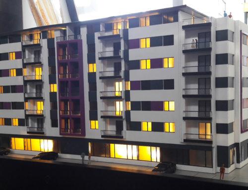 Præsentationsmodel Hotel