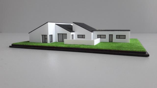 Præsentationsmodel Give Huset