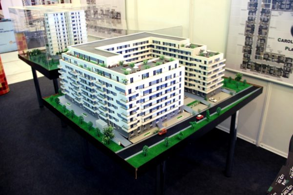 Præsentationsmodel Modelhus Boligkompleks