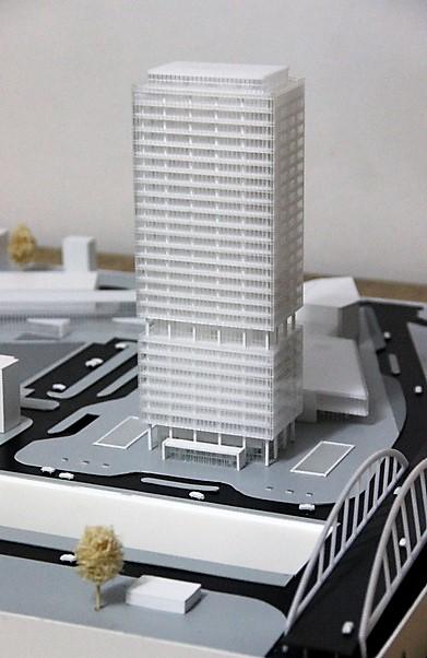 Arkitekturmodel Modelhuset Højhus
