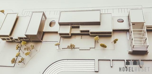 arkitektmodel modeller arkitekt modelbyggeri 3d