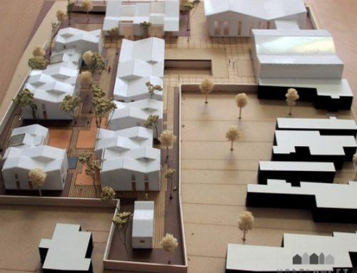 Arkitekturmodel Modelhuset Byfornyelse