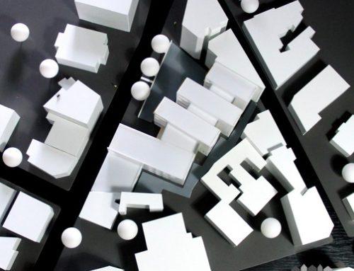 Arkitekturmodeller Modelhuset Byfornyelse 2