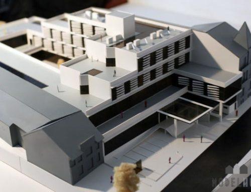 Arkitekturmodel Modelhuset Hotelbyggeri