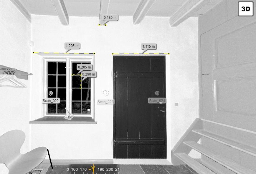 3d scanning Hverringe Gods Modelhuset