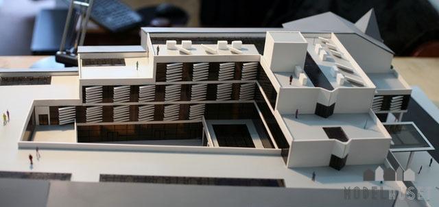 Hotel Arkitekttegnet Model Modelhuset