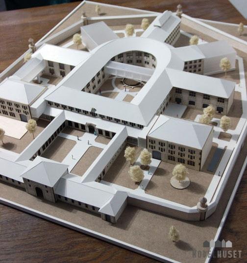Arkitekturmodel Modelhuset Offentlig Bygning