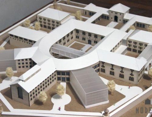 Arkitekturmodel Modelhuset 4